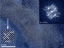 HRTEM image of HAp nanocrystals