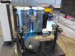 Pilot-plant VOC oxidation reactor