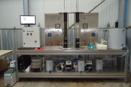 Adsorption prototype at pre-pilot scale