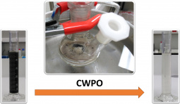 CWPO of a real wastewater