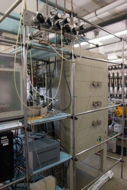 1-Column Pressure Swing Adsorption Set-UP
